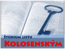 Štúdium Listu Kolosenským